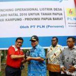 Kejar Target Rasio Elektrifikasi 90 Persen di Papua