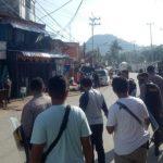 West Papua Police Force Disband KNPB Mass in Jayapura